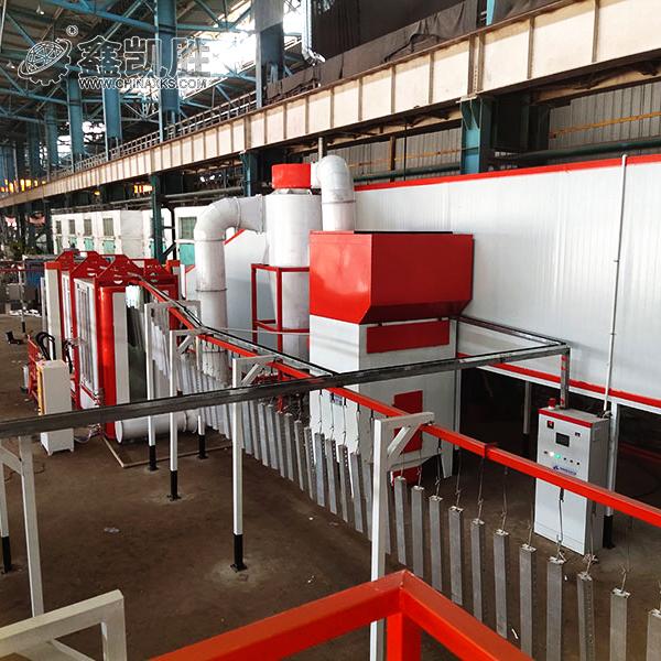 护栏喷粉生产线设备